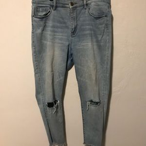 Urban Outfitters Distresses Jeans